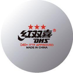 Plastic Ball Dhs Dual D40 Ittf 1 Pc Table Tennis