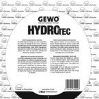 Rubber Protective Film GEWO HydroTec not self-adhesive
