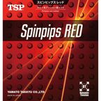 Short pips TSP Spinpips Red
