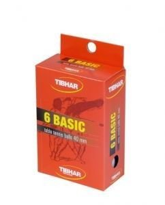 Balls TIBHAR Basic 40 mm - 6 pcs