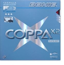 Pips-in DONIC Coppa X2 (Platin Soft)
