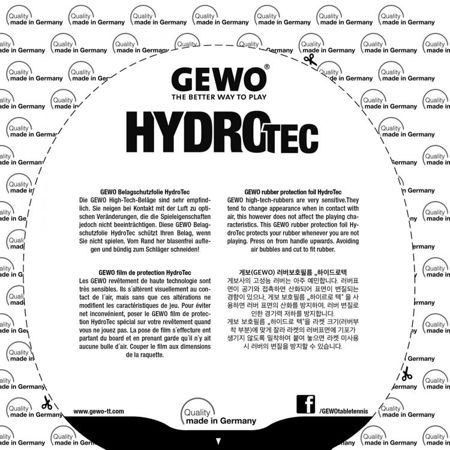 Rubber Protective Film GEWO HydroTec