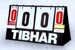Scorer TIBHAR Time Out 0-21