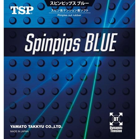 Short pips TSP Spinpips Blue