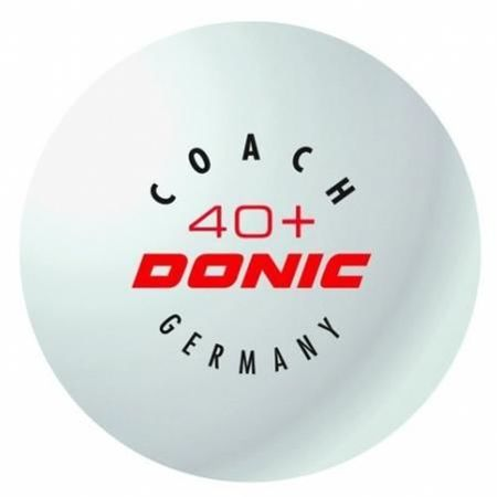 plastic ball DONIC Coach 40+ Cell-Free 1pc.