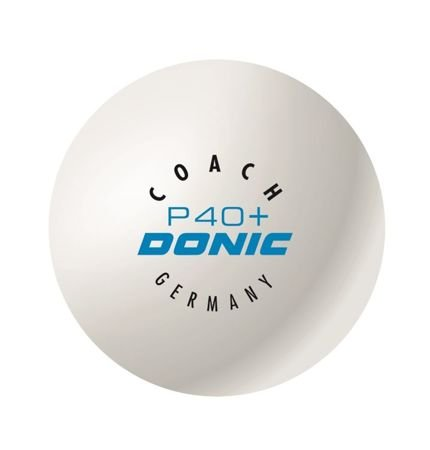 plastic ball DONIC Coach P40+ Cell-Free 1pc.